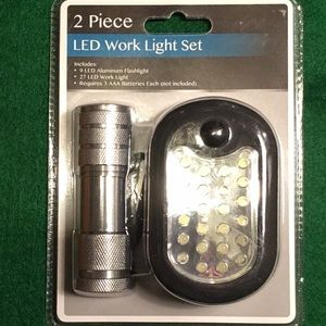 LED Work Light Set.